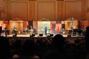 Michael Tilson  Thomas (center) in John Cage's Song Books
