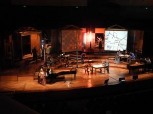 Dress rehearsal for John Cage's Song books