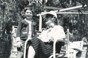 MTT and his grandmother Bessie Thomashefsky