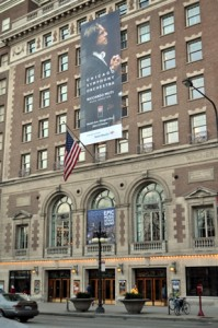 Orchestra Hall, home of the Chicago Symphony Orchestra